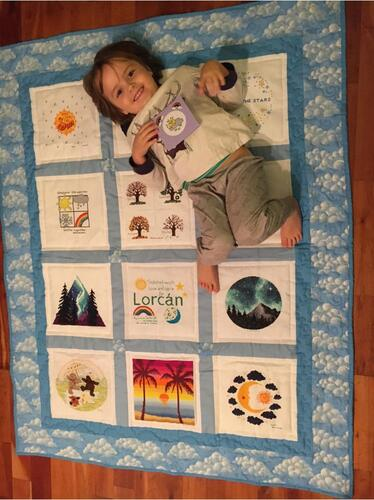 Photo of Lorcan Ms quilt
