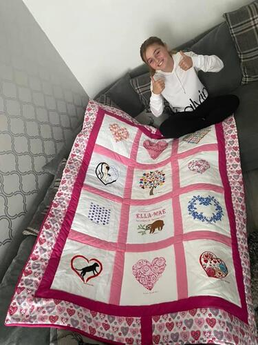 Photo of Ella-Maes quilt