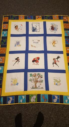 Photo of Tyler Ss quilt