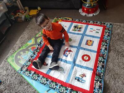Photo of Mason Ws quilt