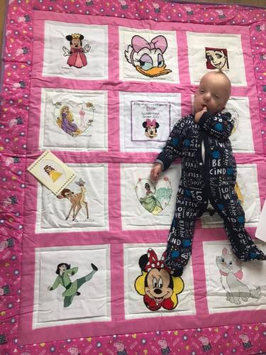 Photo of Elsie Cs quilt