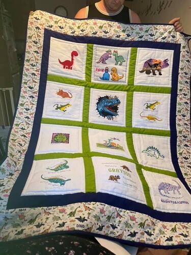 Photo of Graysons quilt