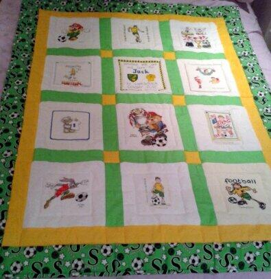 Photo of Jack Ps quilt