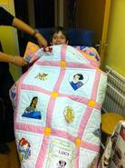 Lucy T's quilt