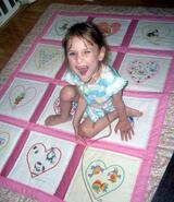 Lillie-May H's quilt