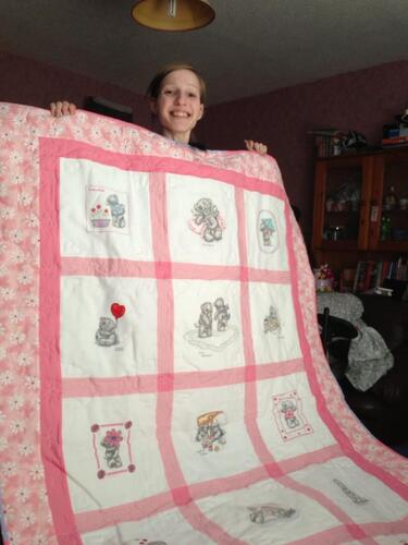 Photo of Emily Ts quilt