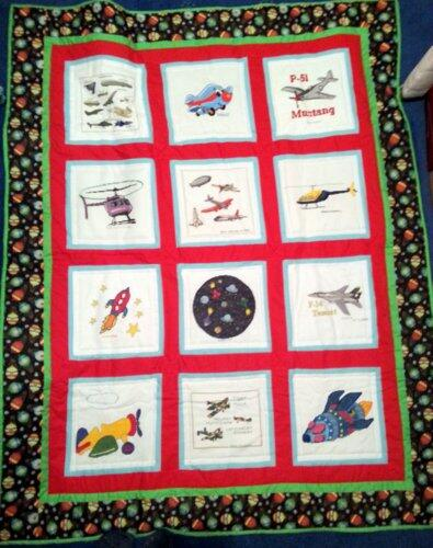 Photo of Alex Ws quilt
