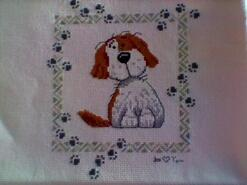 Cross stitch square for Ellie Mae P's quilt