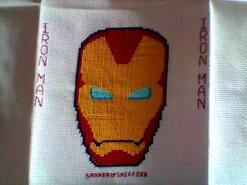 Cross stitch square for Reggie A's quilt
