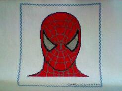 Cross stitch square for Brodie F's quilt