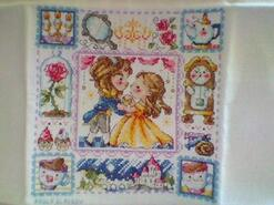 Cross stitch square for Loraya H's quilt