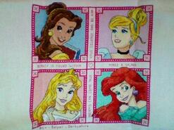 Cross stitch square for Peyton's quilt