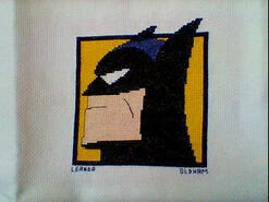 Cross stitch square for McKenzie J's quilt