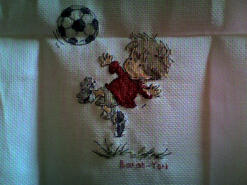 Cross stitch square for Charlie W's quilt