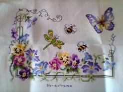 Cross stitch square for Calleigh C's quilt