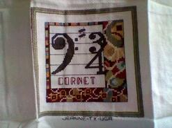 Cross stitch square for Daniel R 1's quilt