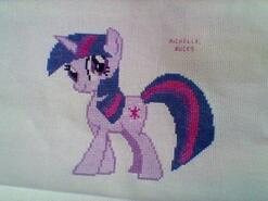 Cross stitch square for Aeryn M's quilt