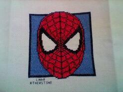Cross stitch square for Noah H 2's quilt