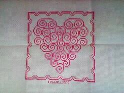 Cross stitch square for Seren W's quilt