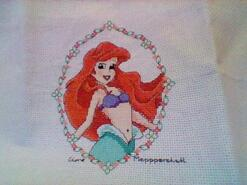 Cross stitch square for Evalyn C's quilt