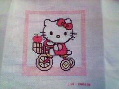 Cross stitch square for Ameeliah G's quilt