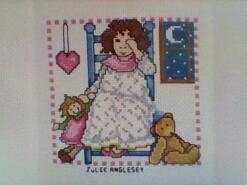Cross stitch square for Esmae L's quilt