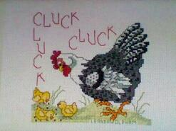 Cross stitch square for Callie S's quilt