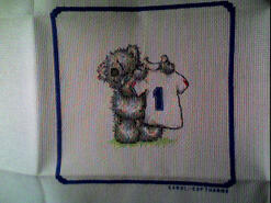Cross stitch square for Jack P's quilt