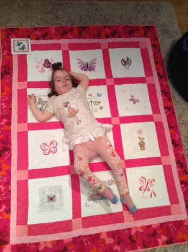 Photo of Katie Js quilt