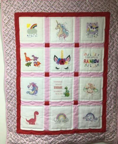 Photo of Esmae Ms quilt