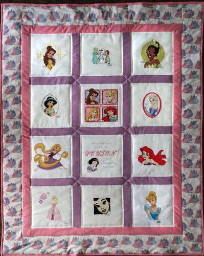 Photo of Peytons quilt